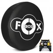 Capa de Estepe Crossfox 2005 a 2019 Com Cadeado PVC