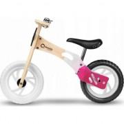 Bicicleta din lemn fara pedale Lionelo, Willy, Bubblegum