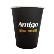 Pahare carton Amigo 240ml - 80 buc.