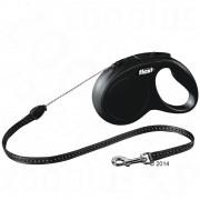 flexi New Classic Cord Lead S черен, 5 м - flexi New Classic Small черен