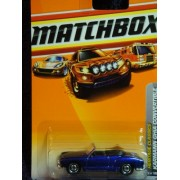 Matchbox Detailed Diecast Heritage Classics #22 Volkswagon Karmann Ghia Convertible Purple - Black I