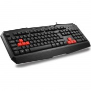 KBD, Delux DLK-9020U, USB, Gaming, Multimedia Function, Fast Win Lock button, Black (DLK-9020/USB/BLACK/BULG)