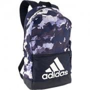 Adidas Blauw / zwarte rugtas legerprint adidas maat