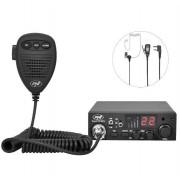 Kit Statie radio CB PNI ESCORT HP 8001L ASQ + Casti HS81L + Antena CB PNI Extra 45 cu magnet