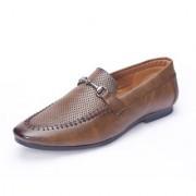 Shoebook Jodhpuri Brown Loafer Shoes