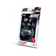 Revell Star Wars Darth Vader's TIE Fighter easy click makett 1102