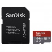 Sandisk ultra microsdxc 64 gb 100 mb/s a1 class 10 uhs-i, android,…