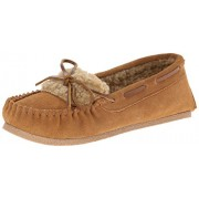 Clarks Women's Moccasin Slip-On Loafer,Cinnamon/Cinnamon,11 M US