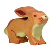 Fa játék állatok - kisnyuszi