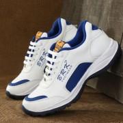 white r.blue running sports shoe for men