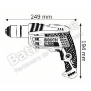 Bosch 0601473600 Perceuse GBM 10 RE 600 W