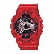 Reloj de cuarzo casio g-shock GA-110SL-4ADR hombres - rojo + negro
