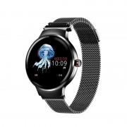 H5 IPS Girl Period Reminder Heart Rate Monitoring Sport IP67 Rated Waterproof Smart Watch - Black
