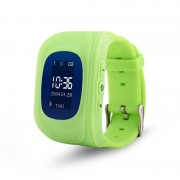 Ceas inteligent pentru copii Q50 Verde cu telefon localizare GPS si monitorizare spion