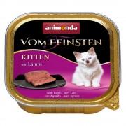6x100г Kitten Animonda vom Feinsten, консервирана храна за котки - с птиче месо