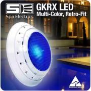 Spa Electrics GKRX / GK7 Multi Plus (Multi-Colour) LED Pool Light, Retro Fit