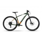 Haibike GREED HardNine 8.0 22-G XT Mix - 18 HB oliv/orange/silber matt - Mountain Bikes L
