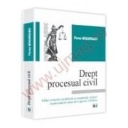 Drept procesual civil Editie revazuta, modificata si completata, inclusiv cu prevederile aduse de Legea nr. 138/2014
