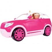 masina papusa Glam pentru un SUV cu o păpușă Steffi universală