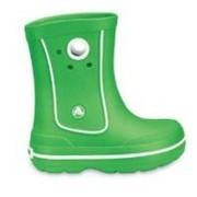 Cizme de cauciuc Wellington Crocs verde