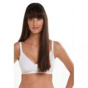 New Beginnings Ugrow Microfibre Breast Feeding Bra White M