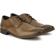 Clarks Chart Walk Tan Antique Lace up For Men(Brown)