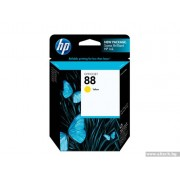 HP 88 Yellow Officejet Ink Cartridge, 9ml (C9388AE)