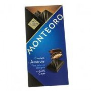 Ciocolata amaruie fara zahar monteoro 90gr SLY NUTRITIA