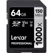 Lexar SDXC Professional 1000X 64GB UHS-II U3 V60, 150MB/s