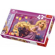 Disney Prinsessa Rapunzel Trassel pussel - 160 bitar