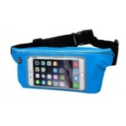"""Blue Birds Good Look And Cool Sports Water Proof Waist Bag Can Hold Mobile Up to 6"""", Keys, Money, Light Weight and Adjustable Free Size SY5 Adjustable Belt(Blue)"""