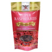 Organic Dried Raspberries 125g