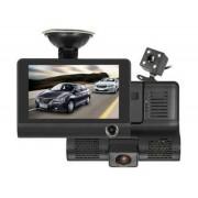 Autós biztonsági kamera, dupla optikával, kamerával