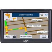 "Sistem de navigatie GPS PNI L808 Evo, Ecran Touchscreen 7"", Procesor 800 MHz, 256MB RAM, 8GB Flash, FM transmitter, Pen, Fara harti (Negru)"