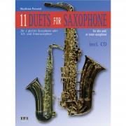 AMA Verlag 11 Duets For Saxophone Matthias Petzold