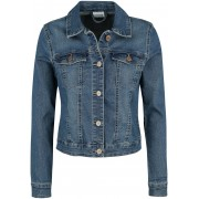 Noisy May Debra Denim Jacket Girls jeansjack blauw