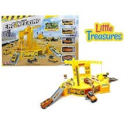 Construct Engineering a perfect construction theme - Watch the youngster get overboard with the constructional set-up;
