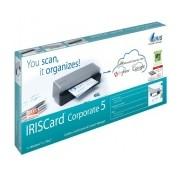 Scanner I.R.I.S. IRISCard Corporate 5, 300 x 300DPI, Escáner Color, USB 2.0, Negro/Gris