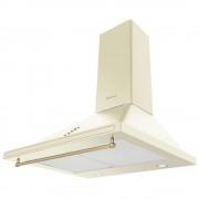 Hota decorativa Hansa OKC613RWH, Putere de absorbtie 403 mc/h, 3 trepte de viteza, 60 cm