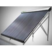 Panou solar 10 tuburi vidate Helis JDL-PM10-RF-58/1.8 seria RF heat pipe, cu rama si suport acoperis