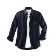 Gino Lombardi Tencel®-Denim-Shirt, 43 cm - Denim