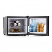 Klarstein titkos rejtekhely, mini hűtőgép, minibár, 17 liter, 50W, A+, ezüst (HEA6-GeheimversteckS)