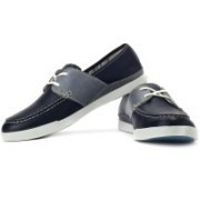 Clarks Nadon Port Boat Shoes For Men(Navy, Grey)