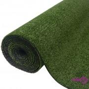 vidaXL Umjetna trava 1x5 m / 7-9 mm Zelena