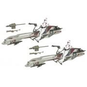 Star Wars 3.75 Inch Scale Battle Pack - Clone Wars Speeder Bike Recon