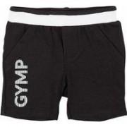 Gymp Baby! Jongens Bermuda - Maat 50 - Zwart - Katoen/elasthan