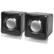 Boxe Defender SPK-35, 2,0, 5W,, dimensiuni compacte negru