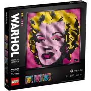 Lego Art(31197). Andy Warhol's Marilyn Monroe