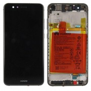 Huawei weergeven LCD unit + frame voor P10 Lite Service Pack 02351FSE zwart