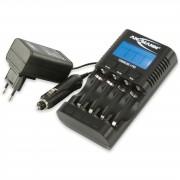 Ansmann - Ladegerät Powerline 4 Pro inklusive 4 AAA Micro Akkus